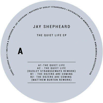 Jay Shepheard - The Quiet Life EP - Unearthed Sounds