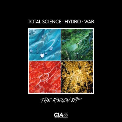 Total Science, Hydro & War - The Reign EP - Unearthed Sounds