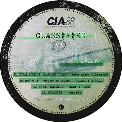 Various Artists - Classified V3 - Unearthed Sounds