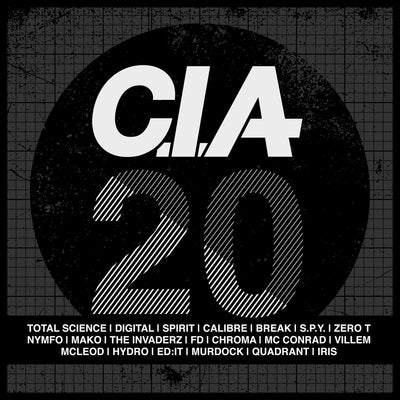 "CIA 20 2x12"" Vinyl Album , Vinyl - CIA Records, Unearthed Sounds"