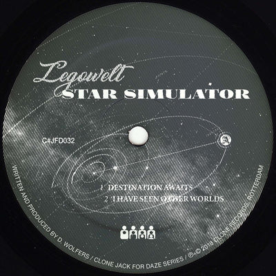 Legowelt - Star Simulator - Unearthed Sounds