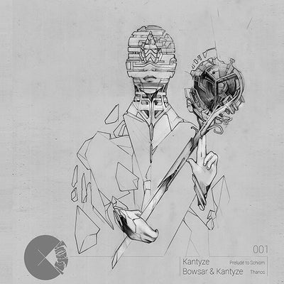 Kantyze & Bowsar - Prelude to Schism / Thanos , Vinyl - Concussion Records, Unearthed Sounds