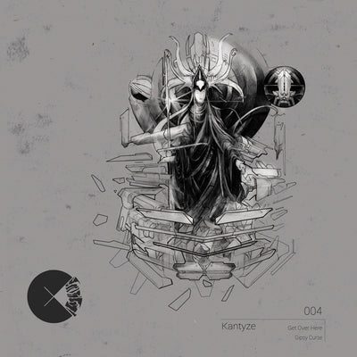 Kantyze - Get Over Here / Gipsy Curse , Vinyl - Concussion Records, Unearthed Sounds