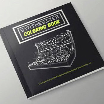 Synthesizer Colouring Book - Unearthed Sounds