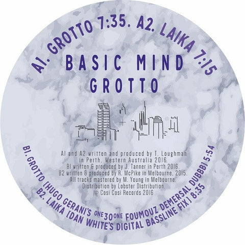 Basic Mind - Grotto EP