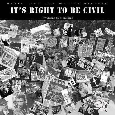 Marc Mac - It's Right To Be Civil , Vinyl - Omniverse Records, Unearthed Sounds