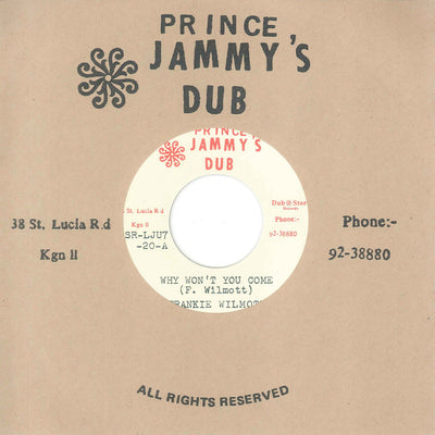 Frankie Wilmott & Prince Jammy's - Why Won't You Come , Vinyl - Dub Store Records, Unearthed Sounds
