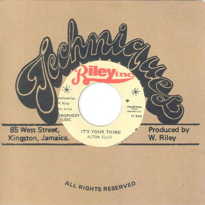 Alton Ellis & Vin Gordon - It's Your Thing - Unearthed Sounds