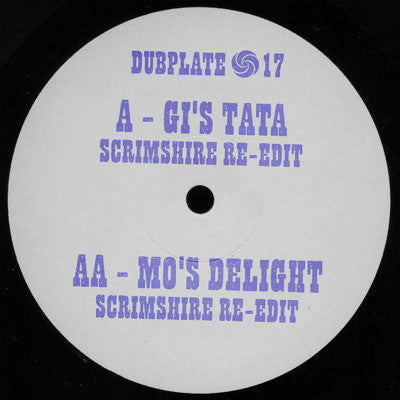 Scrimshire Edits - Gi's Tata , Vinyl - Dubplate, Unearthed Sounds