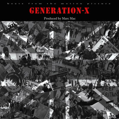 Marc Mac - Generation X , Vinyl - Omniverse Records, Unearthed Sounds