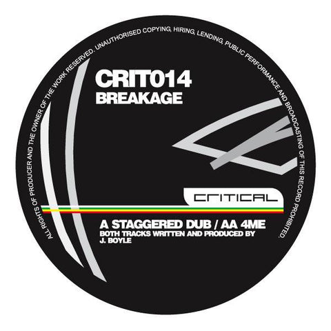 Breakage - Staggered Dub / 4Me