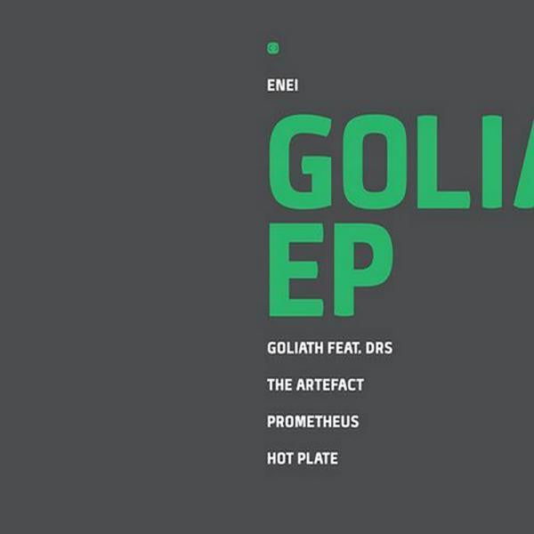 Enei - Goliath EP [Repress] , Vinyl - Critical Music, Unearthed Sounds