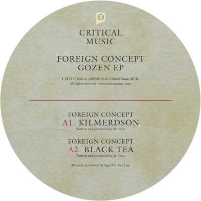 Foreign Concept - Gozen EP [Full Colour Sleeve w/ Download Card]