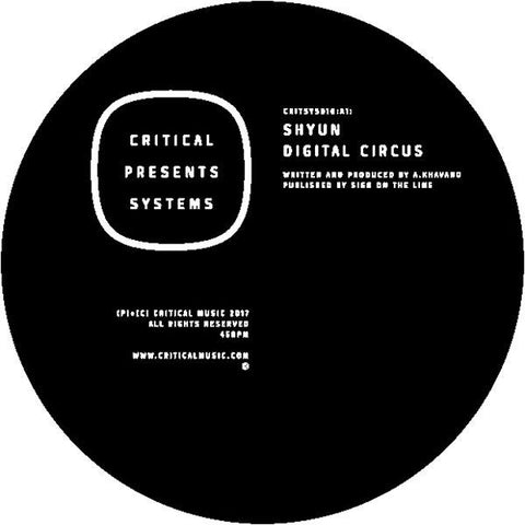 Shyun - Critical Presents: Systems 010