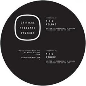 "Kiril - Critical Presents: Systems 012 [Transparent Grey Marble 12"" w/ Download]"