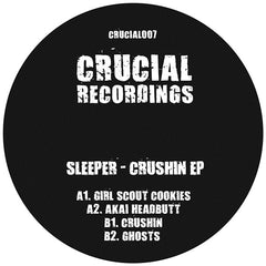 Sleeper - Crushin EP , Vinyl - Crucial Recordings, Unearthed Sounds - 2