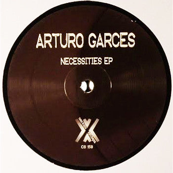 Arturo Garces - Necessities EP , Vinyl - Cross Section Music, Unearthed Sounds