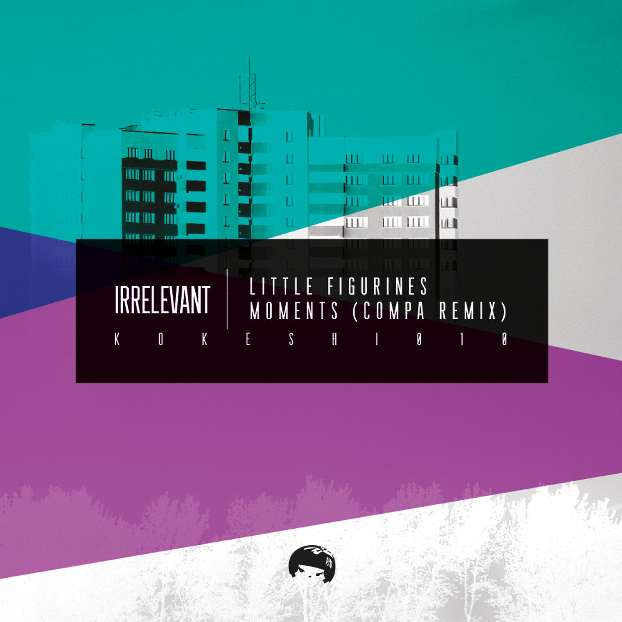 "Irrelevant - Little Figurines / Moments (Compa Remix) [Light Pink Coloured 12""] - Unearthed Sounds"