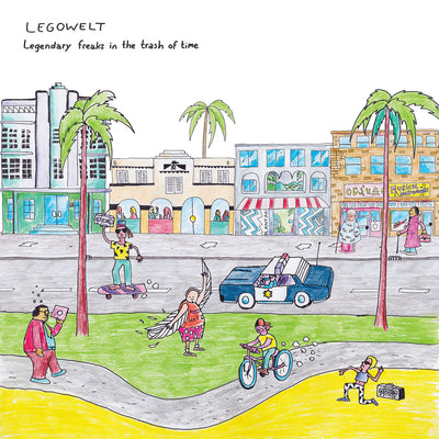 Legowelt - Legendary Freaks In the Trash of Time [2xLP w/ Download] - Unearthed Sounds