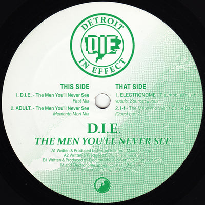Various Artists - The Men You'll Never See EP - Unearthed Sounds