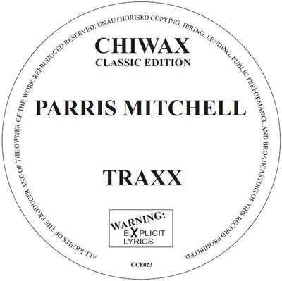 Parris Mitchell - Traxx - Unearthed Sounds