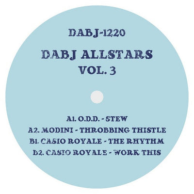 Various Artists - DABJ Allstars Vol.3 - Unearthed Sounds