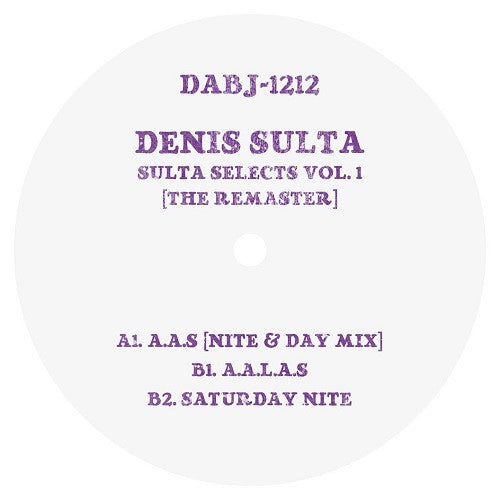 Denis Sulta - Sulta Selects Vol 1 [The Remaster] , Vinyl - Dixon Avenue Basement Jams, Unearthed Sounds