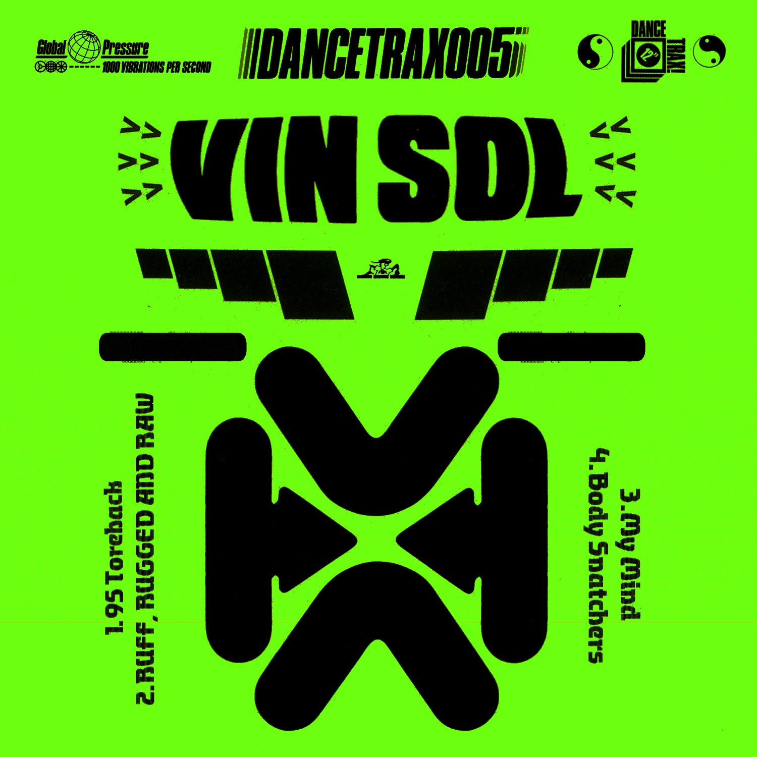Vin Sol - Ruff Rugged and Raw (Dance Trax Vol. 5)