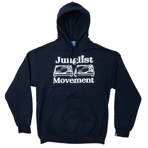 Junglist Movement Hoodie (Navy Blue)