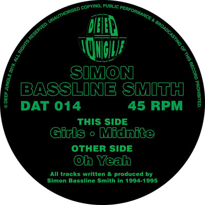 Simon Bassline Smith - Oh Yeah / Girls / Midnite - Unearthed Sounds