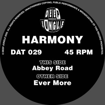 Harmony - Ever More / Abbey Road - Unearthed Sounds