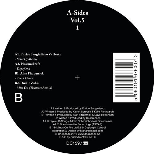 Various Artists - A-Sides Volume 5 Pt 1 , Vinyl - Drumcode, Unearthed Sounds