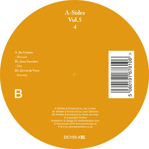 Various Artists - A-Sides Volume 5 Pt 4 , Vinyl - Drumcode, Unearthed Sounds