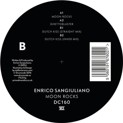 Enrico Sangiuliano - Moon Rocks , Vinyl - Drumcode, Unearthed Sounds