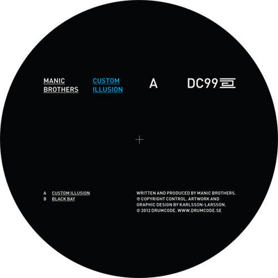 Manic Brothers - Custom Illusion , vinyl - Drumcode, Unearthed Sounds