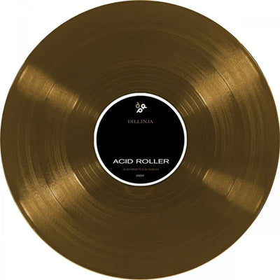 "Dillinja - End Of The Line / Acid Roller [Gold 12"" Vinyl] - Unearthed Sounds"