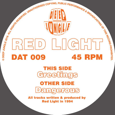 Red Light - Greetings / Dangerous - Unearthed Sounds
