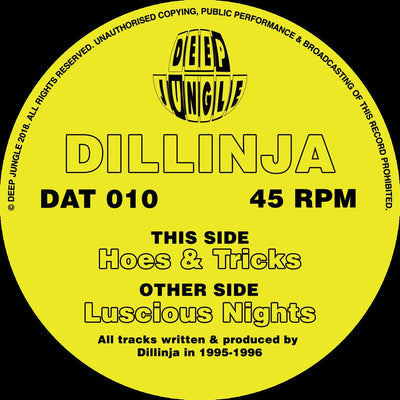 Dillinja - Hoes & Tricks / Luscious Nights - Unearthed Sounds