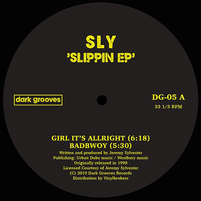 SLY - Slippin Ep - Unearthed Sounds, Vinyl, Record Store, Vinyl Records