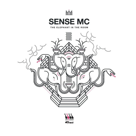 Sense MC & Various Artists - The Elephant In the Room LP