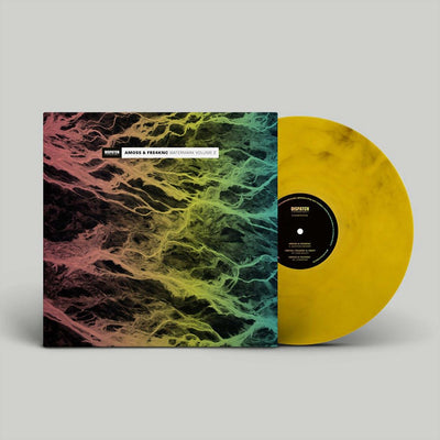 Amoss & Fre4knc & Swift - Watermark Volume 2 [full colour sleeve / yellow marbled vinyl] - Unearthed Sounds