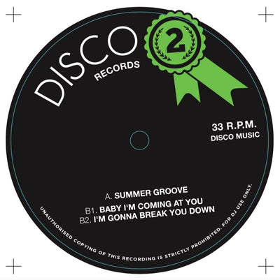 Various Artists - Disco Records #2 - Unearthed Sounds