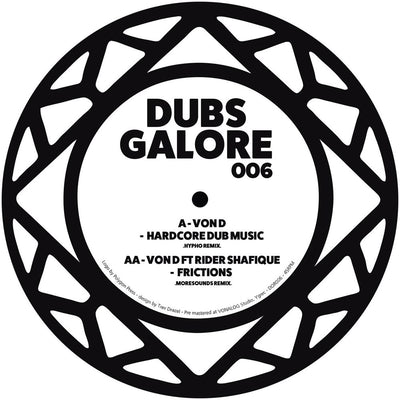 Von D feat. Rider Shafique - Dubs Galore Remixes - Unearthed Sounds