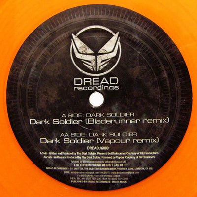 Dark Soldier ‎– Dark Soldier (Bladerunner & Vapour Remixes) - Unearthed Sounds
