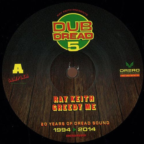 Ray Keith - Dub Dread 5 Sampler EP [ 2x12 Inc. Free CD]