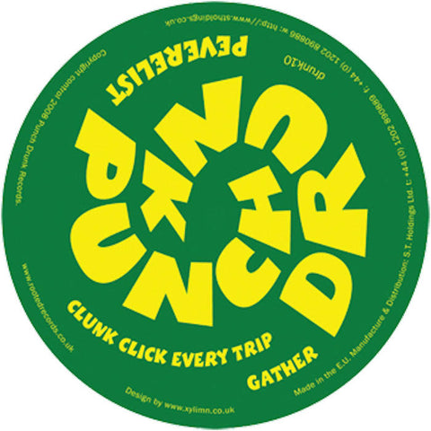 Peverelist - Clunk Click Every Trip / Gather