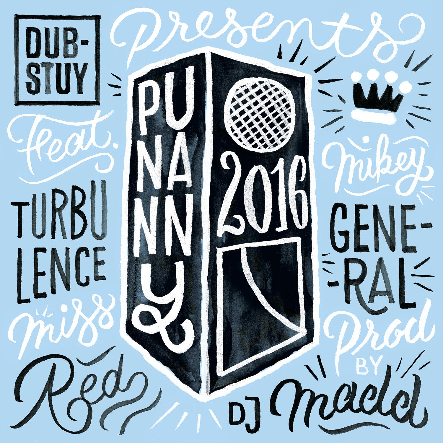 "Various Artists - Punanny 2016 (2x7"" Vinyl) , Vinyl - Dub-Stuy Records, Unearthed Sounds - 1"