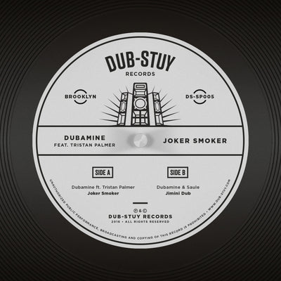 Dubamine ft. Tristan Palmer - Joker Smoker SP - Unearthed Sounds, Vinyl, Record Store, Vinyl Records