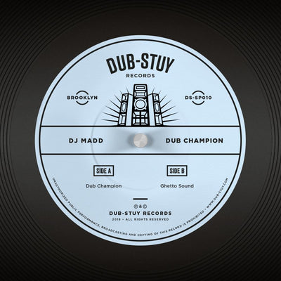 DJ Madd - Dub Champion - Unearthed Sounds