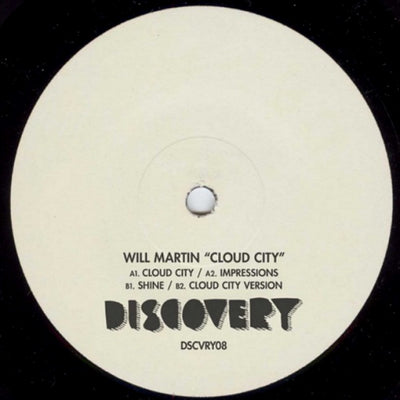 Will Martin - Cloud City , Vinyl - Discovery Recordings, Unearthed Sounds